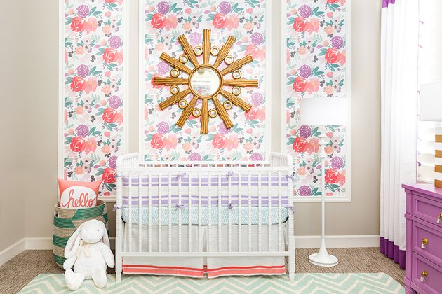 Floral Baby Room Design Ideas