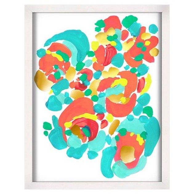 Oh Joy! Abstract Floral Framed Artwork
