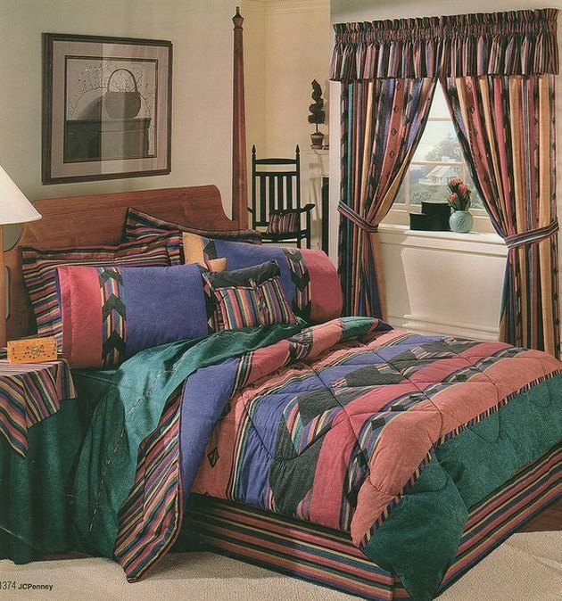 1990s home decor trends lots of patterns