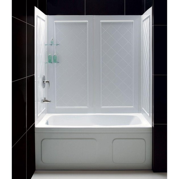 Qwall SlimLine Shower Wall by DreamLine