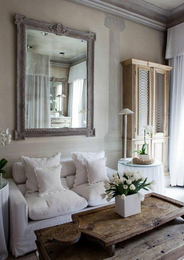 fresco painting living room