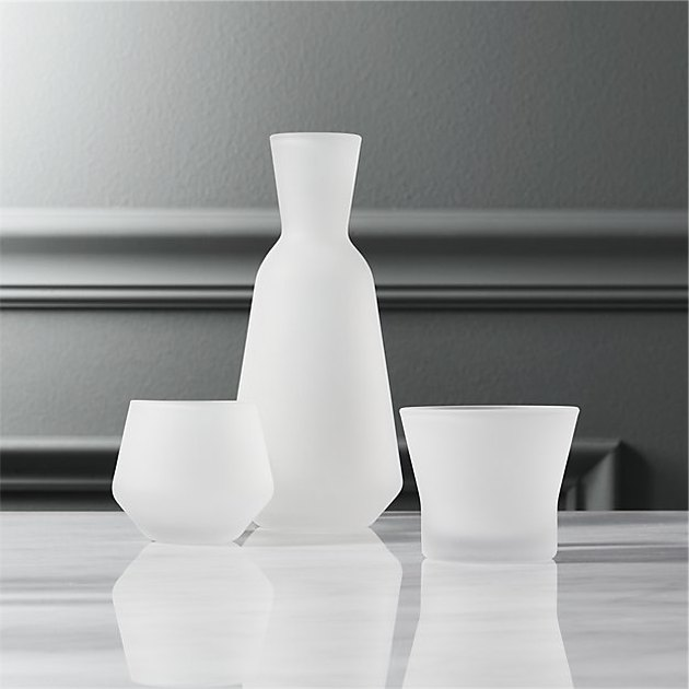 Frosted Sake Set