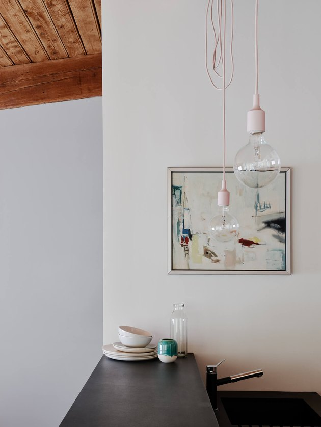 exposed bulb pendant
