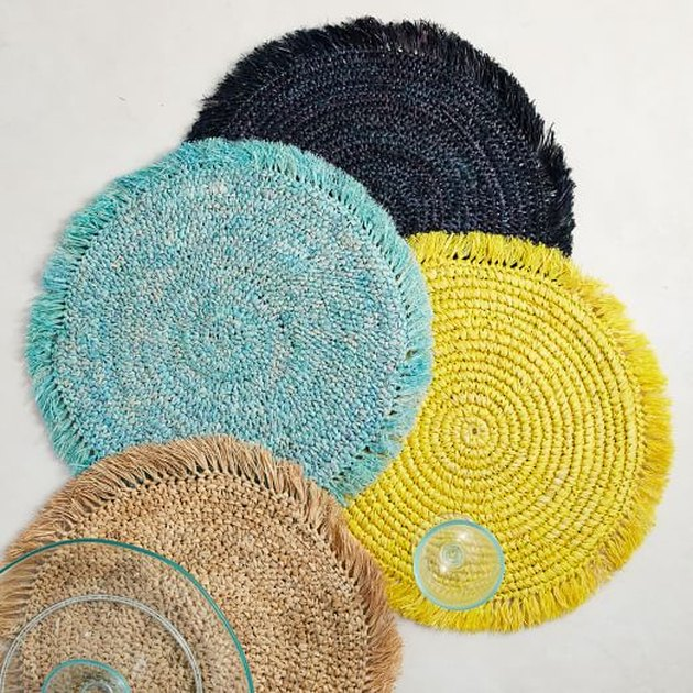 Woven Brights Placemats
