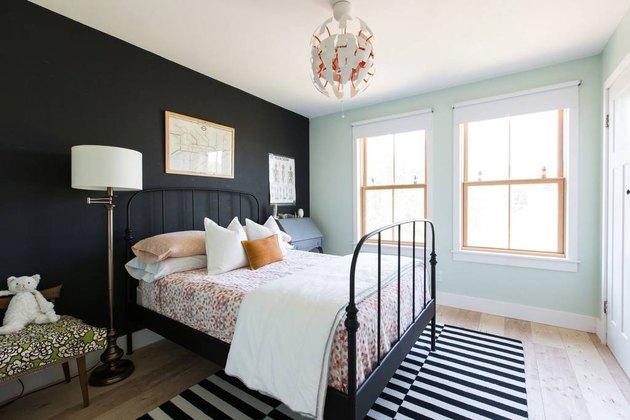 Renovated Bungalow Queen Anne Seattle Modern Design Bedroom