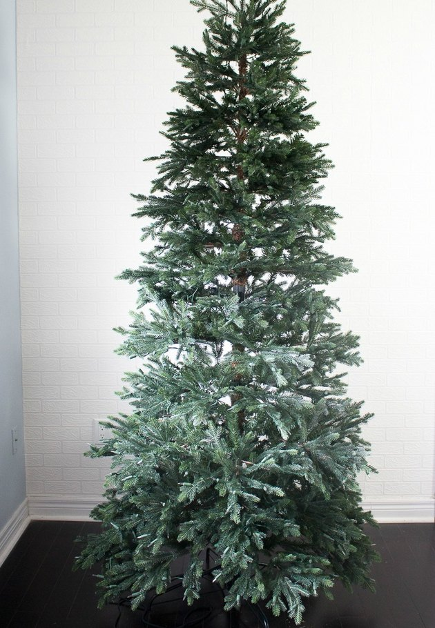Assembled artificial tree