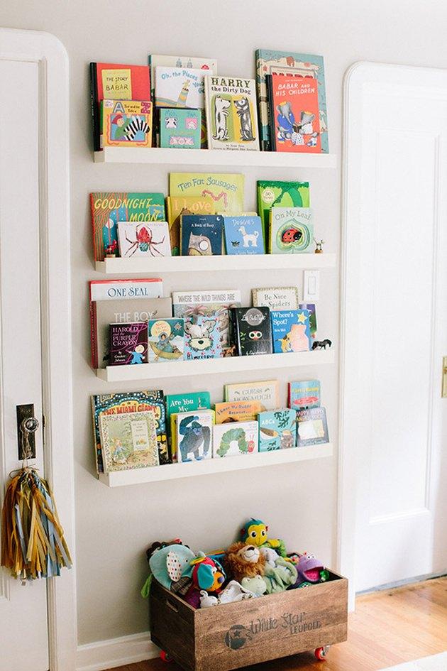 book display nursery