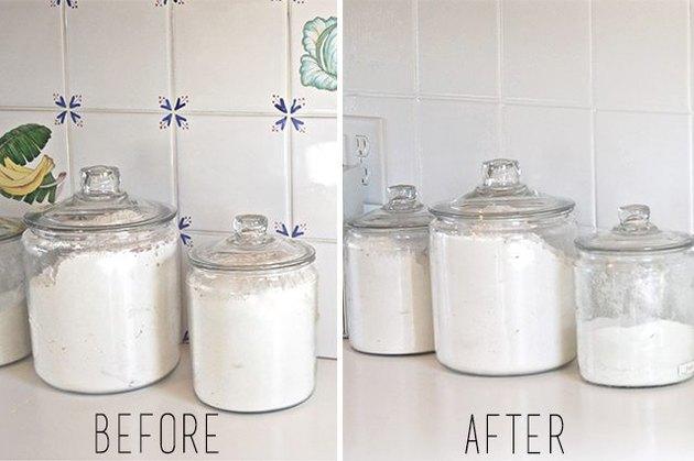 Comment peindre un dosseret de carreaux de cuisine