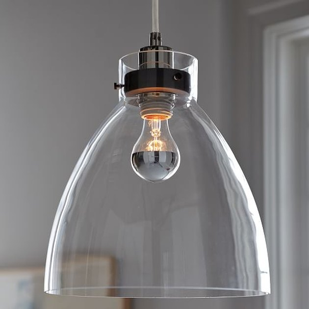glass shade pendant