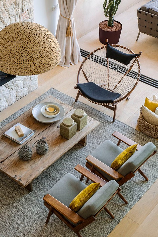 midcentury modern style mallorca beachfront apartment