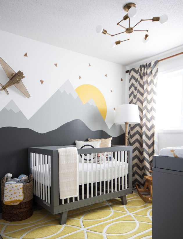 Mountain Nursery by Leclair Decor