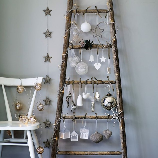 christmas tree alternative ladder