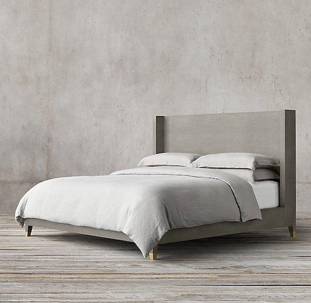 Graydon Shagreen Platform Bed