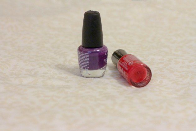 How to Remove Finger Nail Polish From Bed Sheets