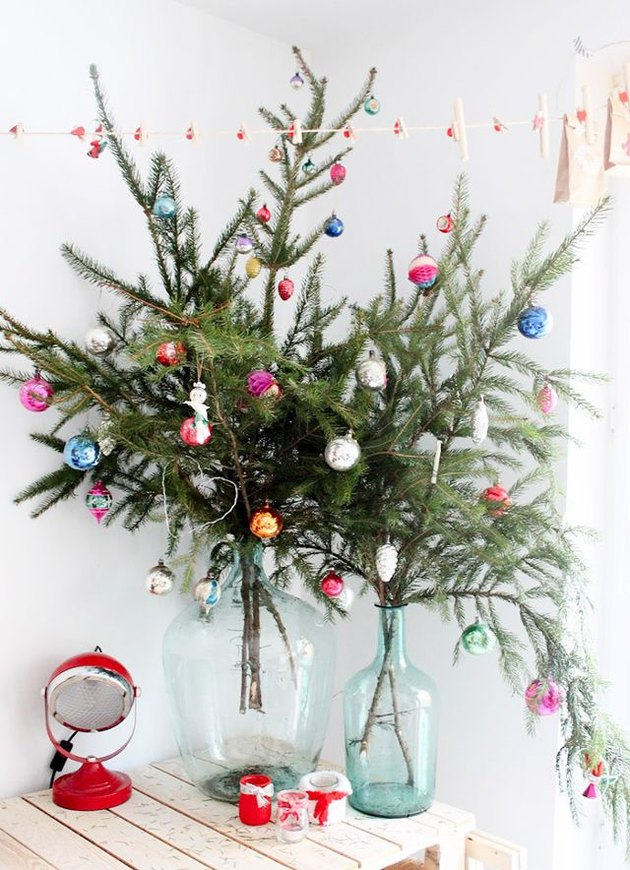 christmas tree alternative branches