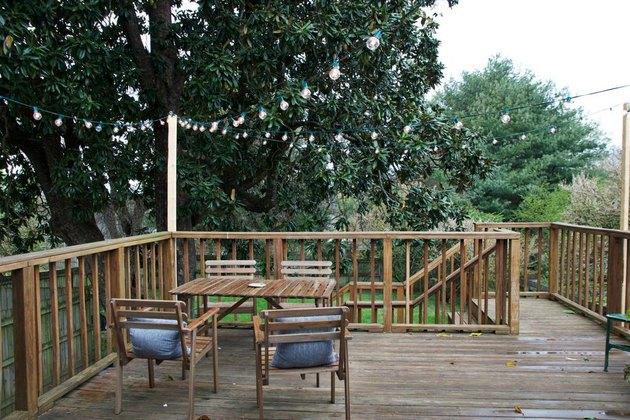 airbnb backyard