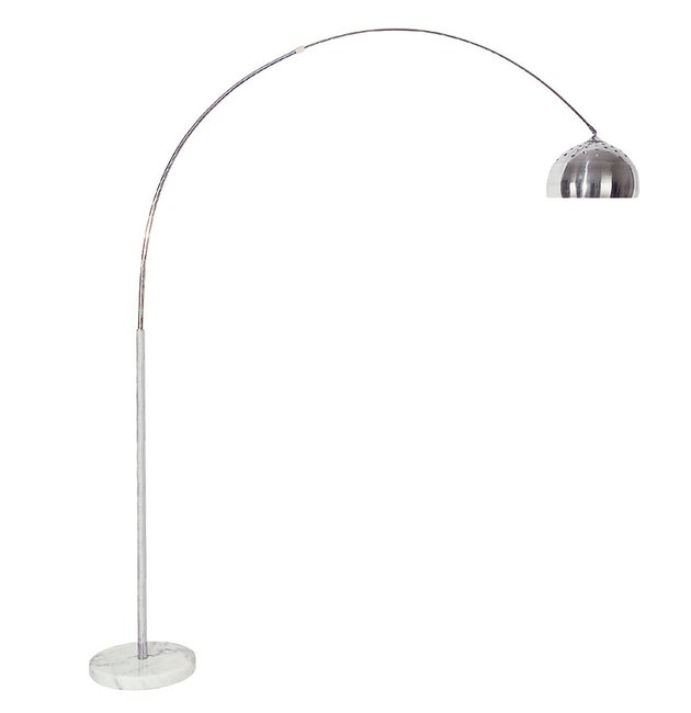 silver arch lamp