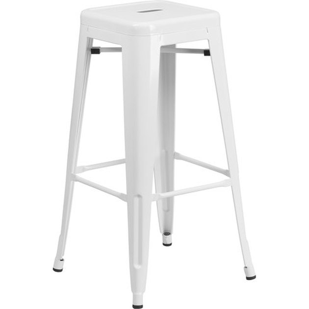 White barchetta bar stool