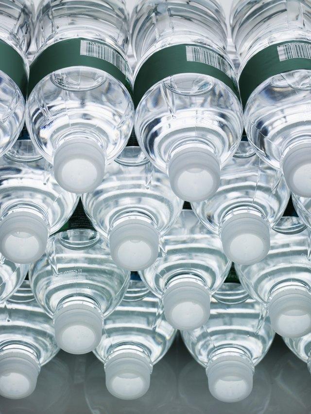 Stack of Water Bottles