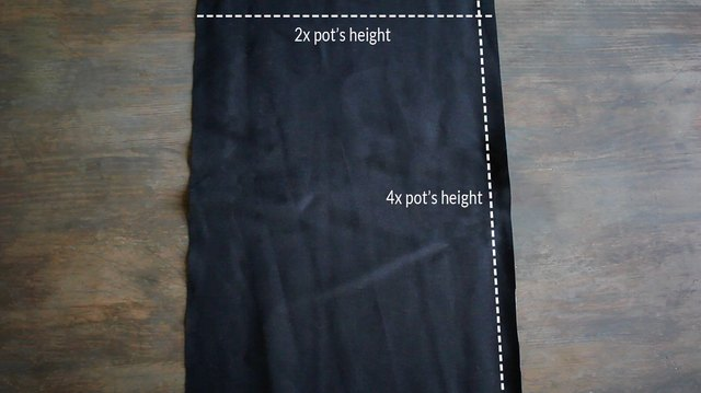 Canvas fabric cut to size