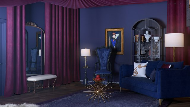 Disney Villain Inspired Rooms You Can Shop And Recreate Hunker