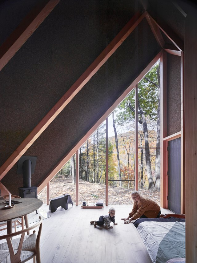 This 180-Square-Foot Cabin in Upstate New York Is All About Hygge | Hunker