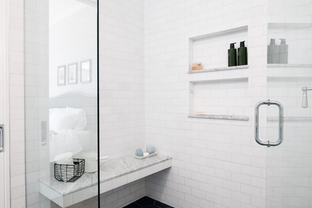7 Shower Bench Ideas to Make Your Bathroom Positively Spa-like | Hunker