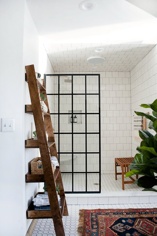 8 Open Shower Ideas That Will Convince You to Toss Your Shower Curtain | Hunker