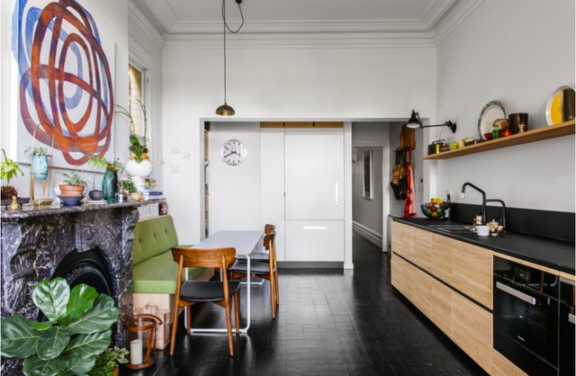 10 Dark Kitchen Floors That Will Completely Erase Your Desire For A White-Washed Room   Hunker