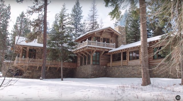 Aaron Paul's Rustic Home Is Basically a Luxury Cabin We Can Only Dream Of | Hunker