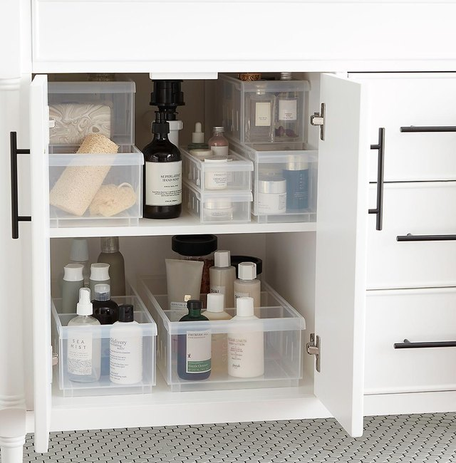 These 11 Bathroom Cabinet Organizers Aren't Messing Around | Hunker
