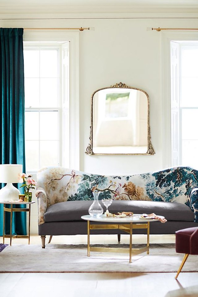 10 Art Deco Curtain Ideas so Pretty You'll Want to Keep Them Closed All the Time   Hunker