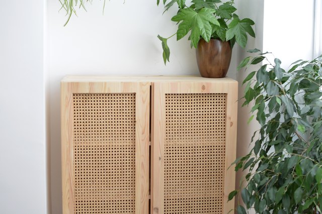 This IKEA Hack Uses Cane to Turn a Plain Cabinet Into a Design Beauty | Hunker