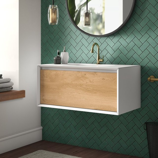 10 Modern Bathroom Vanities That Will Make You Love Brushing Your Teeth | Hunker