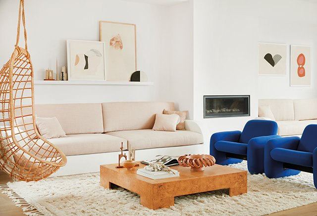 8 Dreamy Blue Accent Chairs for Your Living Room | Hunker