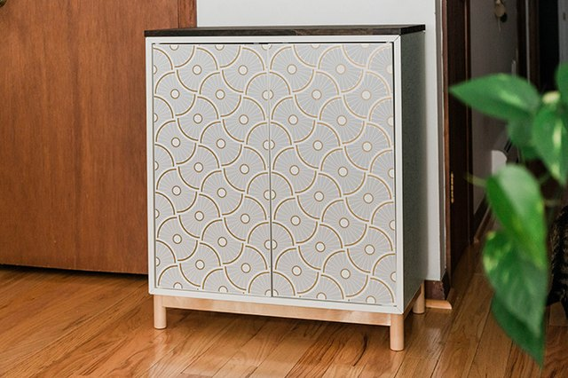 IKEA and Target Are Behind This Beautiful Entryway Cabinet Makeover | Hunker
