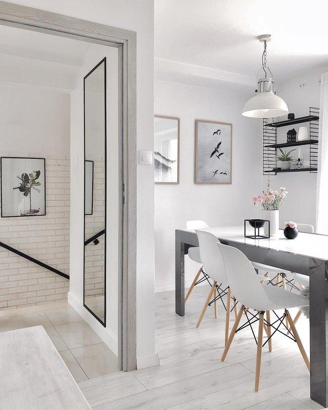 A Gray-and-White Palette Creates A Serene Scandinavian