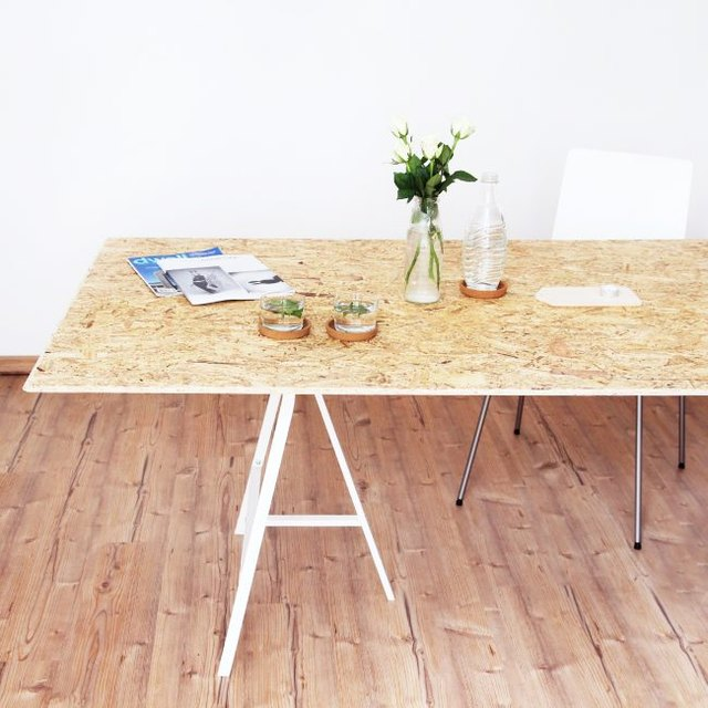 A DIY Minimalist Dining Table Is the Stylish Touch Your Home Has Been Missing   Hunker