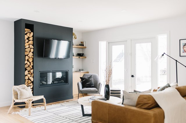 Just 7 Scandinavian Fireplaces That You'll Want to Curl Up Next To | Hunker