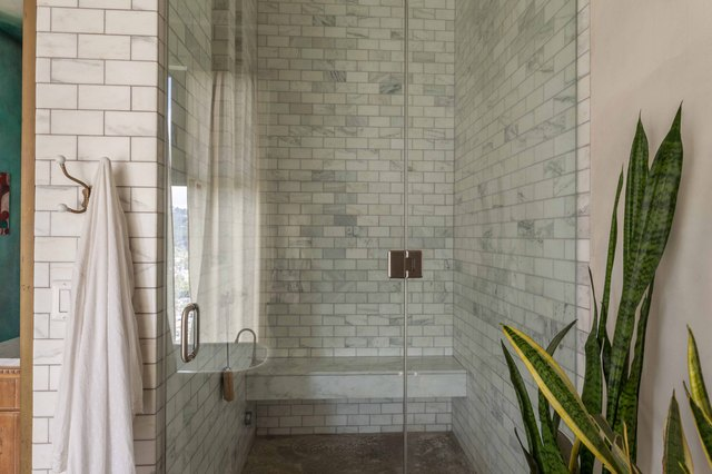 The steam shower