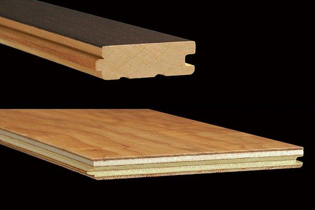 Solid and engineered wood flooring.