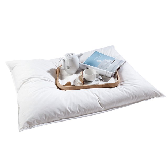 Oversized pillow with tray
