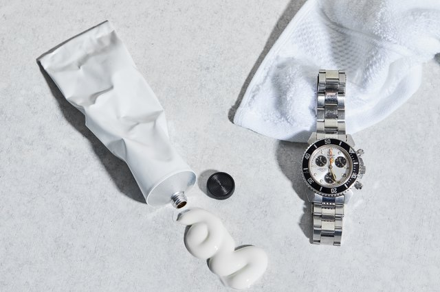 Remove scratches from a watch with toothpaste