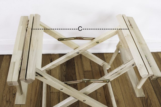 Measurement for chair seat width
