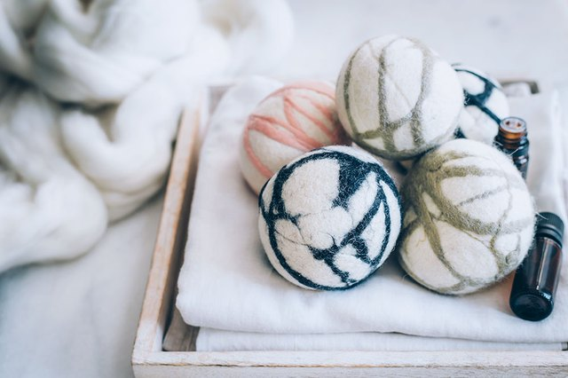 Reduce Laundry Time With These DIY Felted Wool Dryer Balls | Hunker