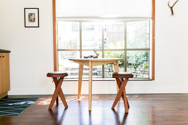 Parker's own table and chairs