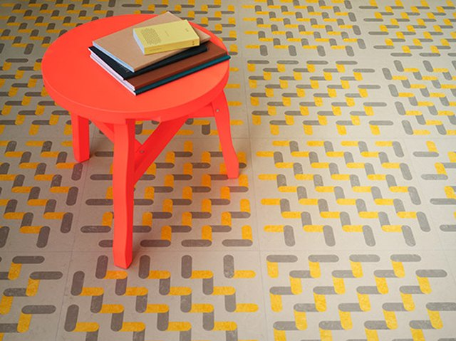 Marmoleum Imagine, designed by Sigrid Calon and manufactured by Forbo