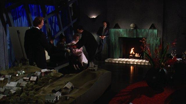 Beetlejuice fireplace 2