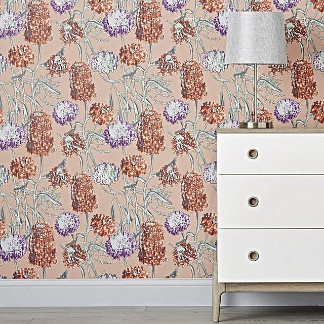 Hydrangea Removable Wallpaper