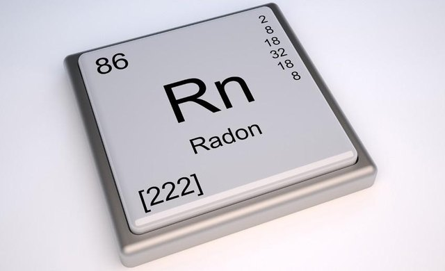 Chemical symbol for radon